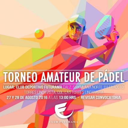 Torneo Amateur de Pádel