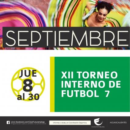 Doceavo torneo interno de Fútbol siete