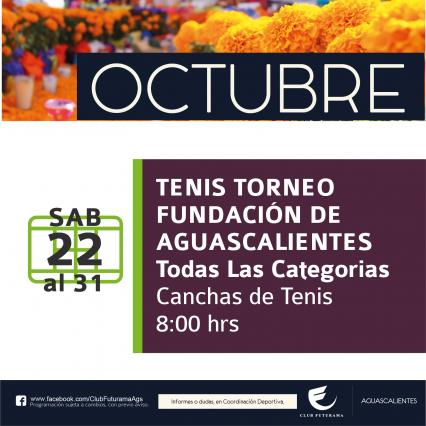 Torneo de Tenis Fundación de Aguascalientes