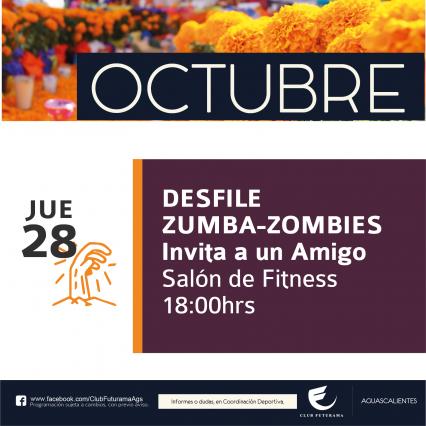 Desfile Zumba-Zombie