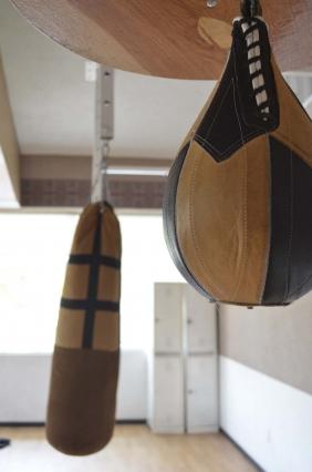 Área de boxeo