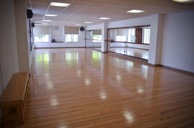 Salón de danza y yoga