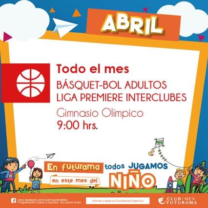 Basquetbol adultos - Liga Premiere interclubes