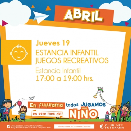 Juegos recreativos en Estancia Infantil
