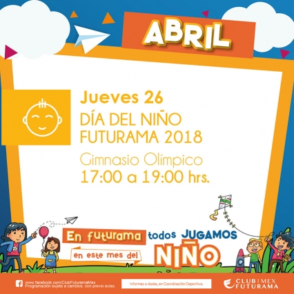 Día del niño Futurama 2018