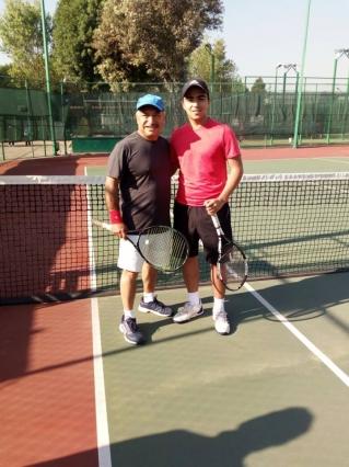 Agradecimiento por participar en torneo de Tenis varonil clase D
