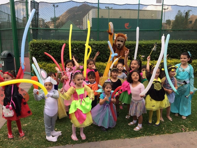 Desfile infantil de Primavera