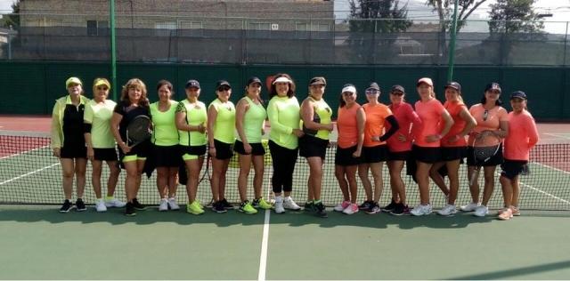 Dual Meet de Tenis Club Futurama vs Club Casablanca Lomas Verdes