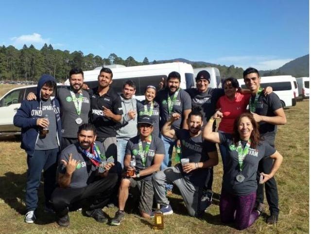 Felicitaciones participantes de la competencia Spartan Beast