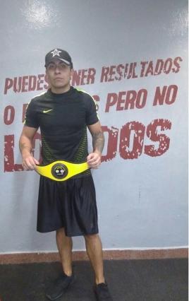 Felicitaciones por el campeonato amateur liga federacion mexicana de Kick Boxing
