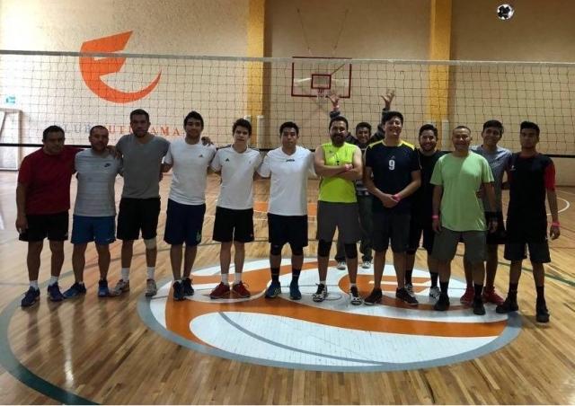 Felicitaciones participantes de triangular de Voleibol