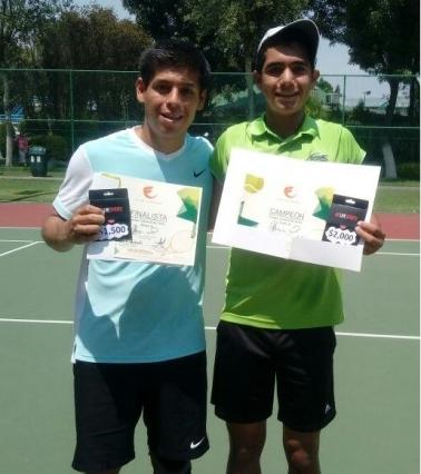 Felicidades finalistas del torneo de Tenis varonil