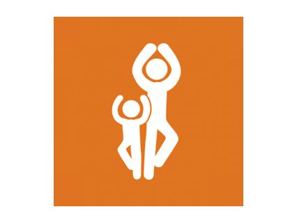 Yoga para hijos y papás