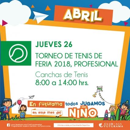 Torneo de Tenis de feria 2018 Profesional