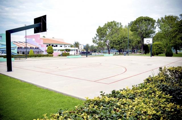 Canchas de Baloncesto al aire libre