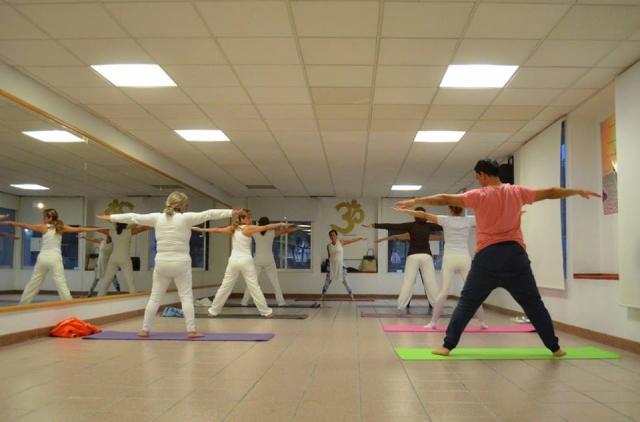 Equilibrio con Yoga
