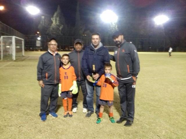 Felicitaciones ganadores del torneo de penales del pavo