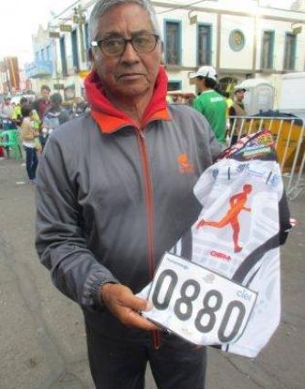Felicitaciones por la participacion en el Maratón Guadalupano