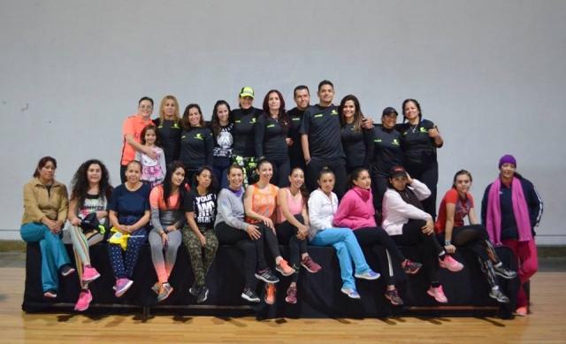Master class de Zumba con profesores invitados