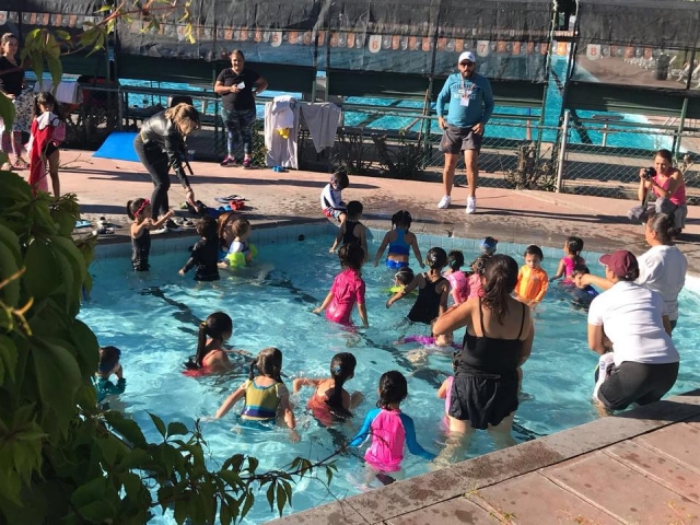 RAlly acuático infantil y juvenil